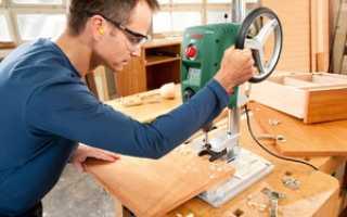 Как сделать сверлильный станок из рулевой рейки