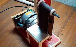 Сделать шлифовальный станок из двигателя