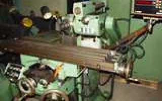 Фрезерный станок схема и описание