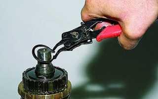 Как снять стопорные кольца без инструмента