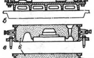 Литейная модель материал
