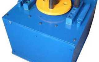 Гибочный станок для арматуры схема