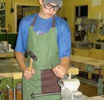 Слесарный инструмент для рубки металла