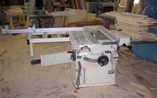 Строение деревообрабатывающего станка