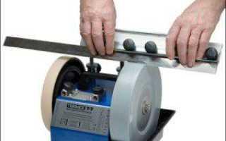Заточной станок для строгальных ножей своими руками