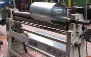 Как сделать прокатный станок для листового металла
