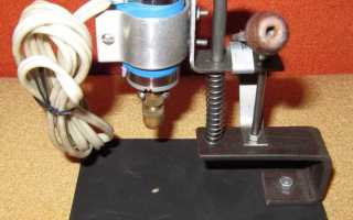 Сверлильный станок для печатных плат чертежи