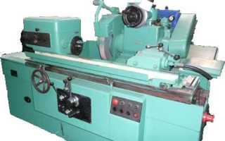 Круглошлифовальный станок 3а151 технические характеристики