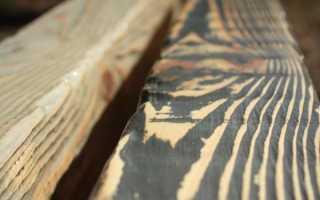 Технология искусственного старения дерева