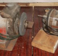 Заточной станок из двигателя от стиральной машины