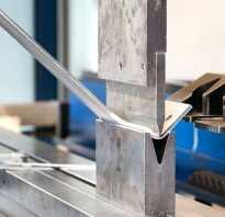 Гибка листового металла технология