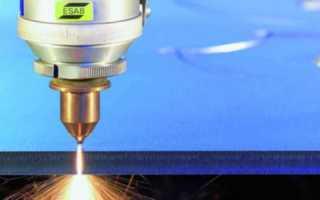Технология лазерная резка металла