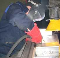 Технология сварки углеродистых сталей