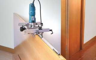Фрезерный станок для установки дверей