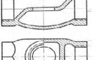 Эскиз литейной формы