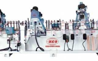 Шлифовальный станок для погонажа проходного типа