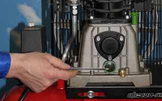 Как заменить масло в компрессоре