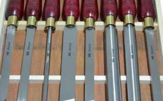 Инструменты для токарного станка по дереву