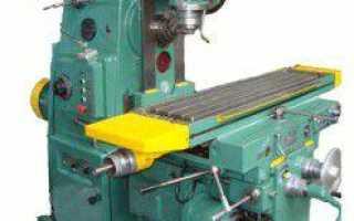 Универсально фрезерный станок 6р82ш технические характеристики