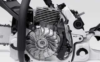 Замена высоковольтного провода на бензопиле
