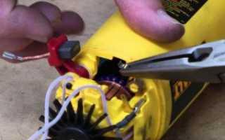 Замена щеток шуруповерта хитачи