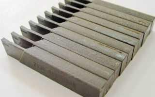 Характеристика инструментальных углеродистых сталей