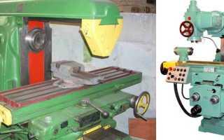 Горизонтально фрезерный станок 6р82 технические характеристики