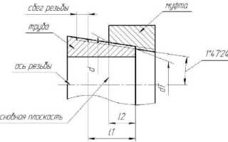 Токарный станок для нарезания трубной конической резьбы