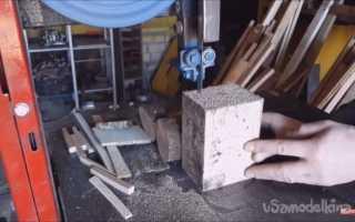 Ленточнопильный станок по металлу своими руками