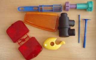 Технология литья пластика