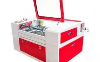 Настольный лазерный станок для резки металла