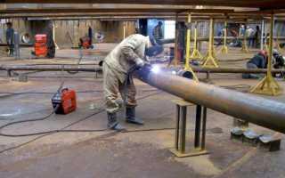 Сварка трубопровода технология