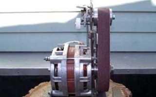 Шлифовальный станок из стиральной машины