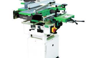 Комбинированный деревообрабатывающий станок woodtec master 250 new