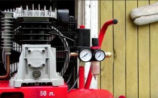 Замена масла в компрессоре abac