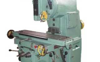 Вертикально фрезерный станок 6р13 технические характеристики