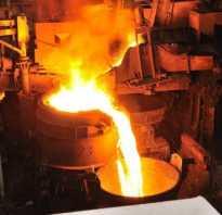 Технологический процесс сталелитейного производства