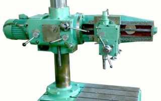 Радиально сверлильный станок 2е52 технические характеристики