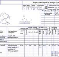 Технологические карты по сварке трубопроводов