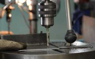 Пробивка отверстий в металле инструмент